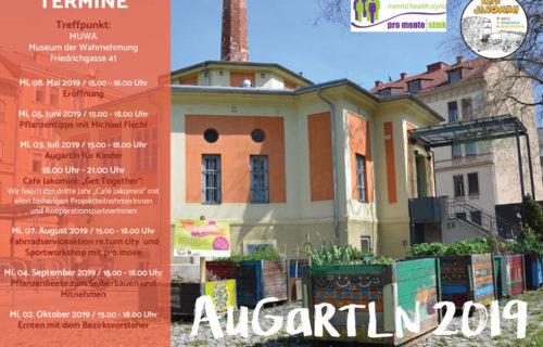 Augartln – Eröffnung am 8. Mai 2019