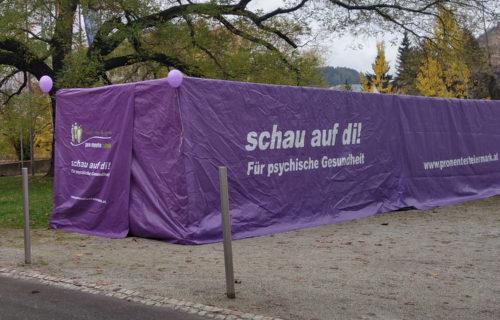"""Erlebnisausstellung """"schau auf di! – Psyche erleben"""" in der Stadt Leoben"""