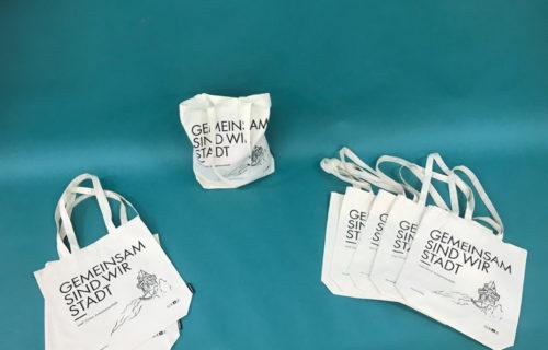 Stofftaschen mit sozialem Mehrwert