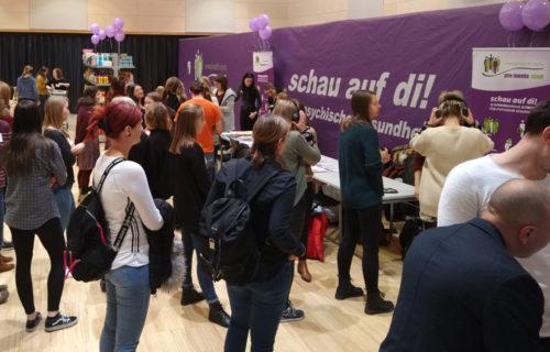 """Auftakt Erlebnisausstellung """"schau auf di! – Psyche erleben"""" an der FH JOANNEUM in Graz"""
