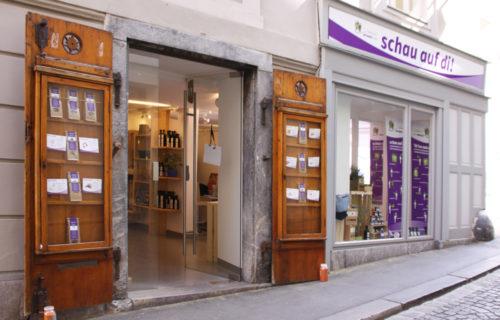 schau auf di! – Information und Shop – Graz