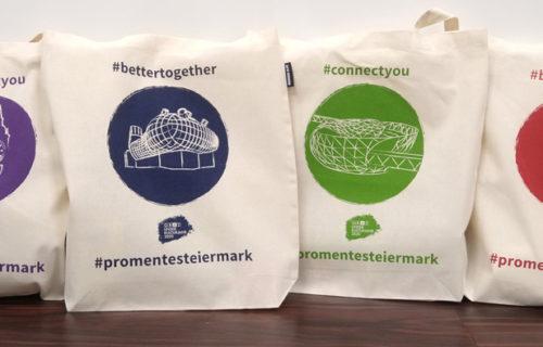 Design-Stofftaschen zum Kulturjahr 2020
